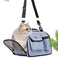 折りたたみ可能なペットバッグ ペットだけでなくペットも持ち込んでいいです 彼は多機能なペットバッグです サイドに大きなポケットがついています 財布や充電器、ペットのおやつなどを入れることができます