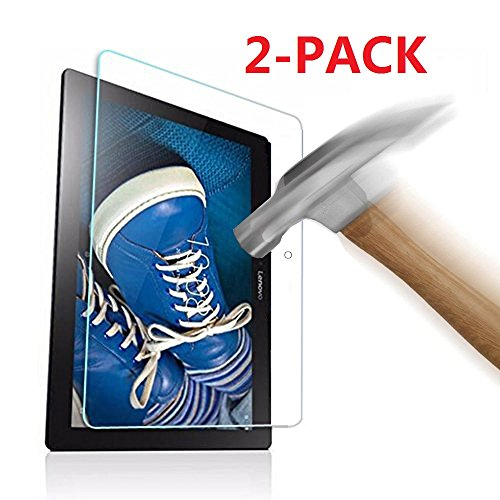 """pellicola tablet lenovo tab2 a10-30 KATUMO 2 Pack Pellicola Protettiva Compatibile con Lenovo Tab 2 A10-30 / A10-70 10.1"""" Tablet"""