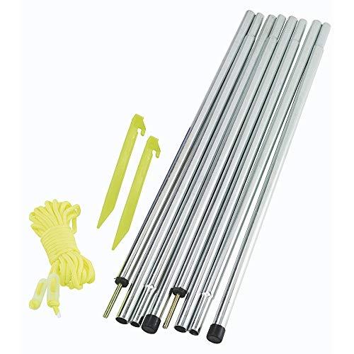 Outwell Upright Pole Set Einheitsgröße Silber