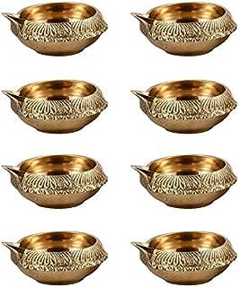 Hashcart Diwali Kuber Deepak Diya Oil Lamp for Puja Home Décor (Pack of 50)