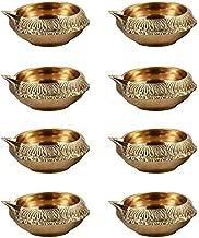 Hashcart Handicrafts Pure Brass Diya (Puja Lamp) Hindu Pooja Article,Diyas, Deepak Oil Lamp