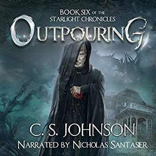 Outpouring audiobook cover art
