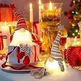 MTaoyac Weihnachten Deko Wichtel 49 cm Hoch, Schwedischen Weihnachtsmann Santa Tomte Gnom, Festliche Verpackung, Skandinavischer Zwerg Geschenke für Kinder Familie Weihnachten Freunde(2 Stücke) - 4