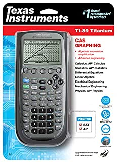 Texas Instruments TI-89 Titanium Graphing Calculator (B0001EMLZ2) | Amazon price tracker / tracking, Amazon price history charts, Amazon price watches, Amazon price drop alerts