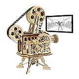 Robotime Meccanico Proiettore cinematografico - Puzzle 3D per Il Taglio di Modelli 3D per ...
