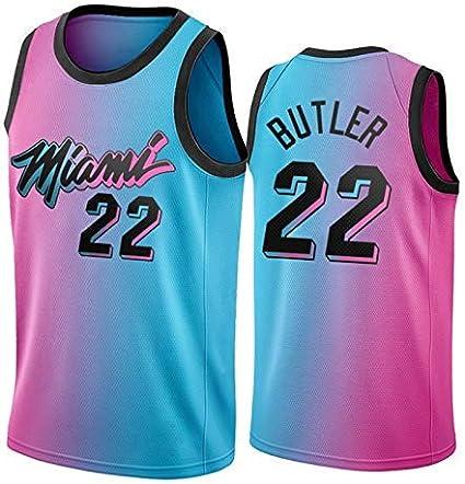 2021 Season Heat 22# Mens Fashion Vest JYNL Butler Herro New Basketball Jersey S Unisex Quick-Drying Breathable Sportswear