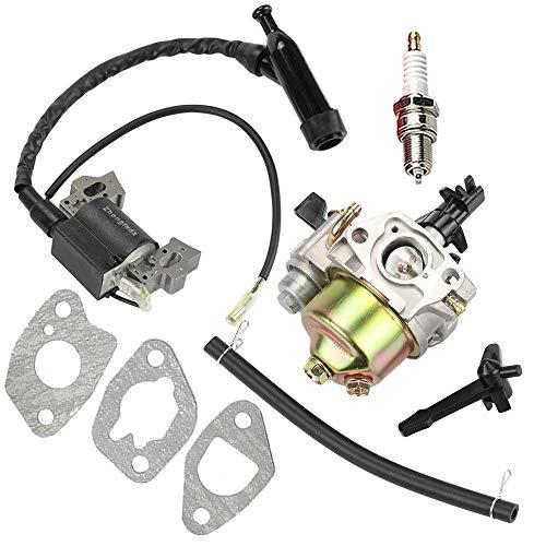 Marks con la Bobina de Encendido del carburador es Adecuado for la Carga del Puerto Predator 212 CC R 210 6.5HP OHV 7hp Horizontal Motor 591731
