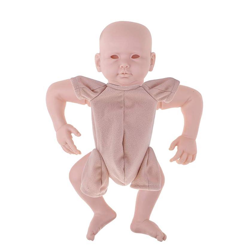 幻想信頼できるプラスCUTICATE シリコン22インチリボーンドールキット生まれたばかりの赤ちゃんの男の子の人形DIY未塗装金型