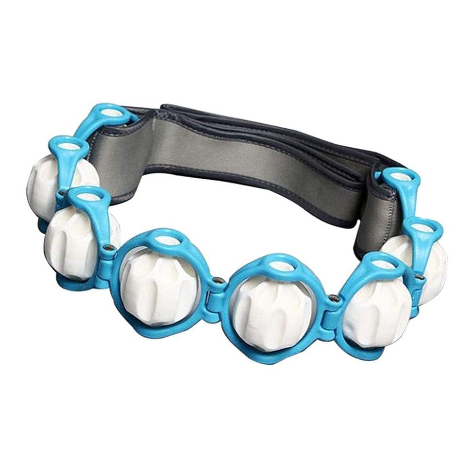 Sharplace ボディマッサージローラーロープ 4色 - 青, 説明したように