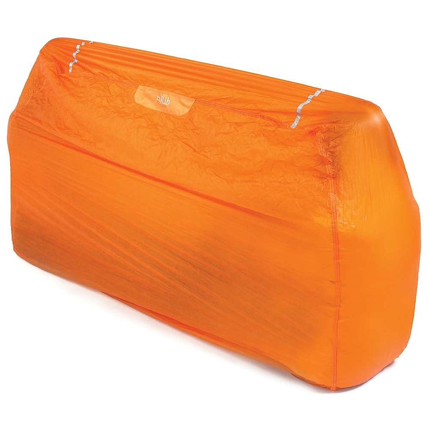 まっすぐにするエイリアス逃すRab(ラブ) タープ ツェルト シェルター ビバーク 緊急用 [1~2人用] 超軽量コンパクト 240g スーパーライトシェルター 2 MR-51-OR-2 オレンジ
