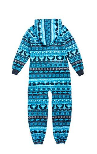 Onepiece Mädchen Bekleidungsset Jumpsuit Kids Hip Hop, Blau (Northern Blue) - 2