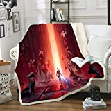 Manta Star Wars – 3D Star Wars – Manta – Ultra-Soft Micro Fleece Blanket...