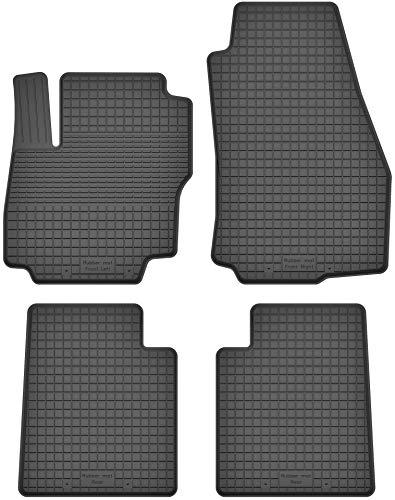 KO-RUBBERMAT Gummimatten Fußmatten 1.5 cm Rand geeignet zur Ford Mondeo IV mk4 (Bj. 2008-2015) ideal angepasst 4 -Teile EIN Set