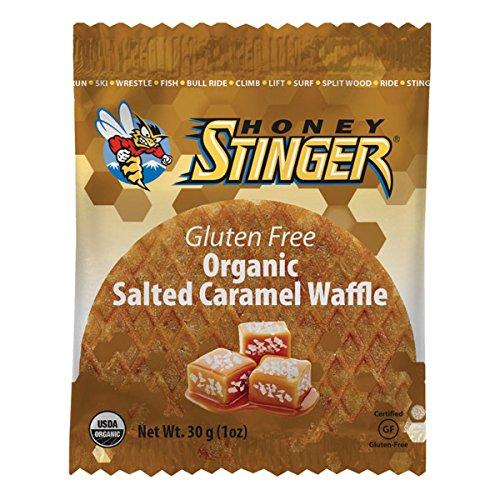 Honey Stinger Gluten Free Waffles - 16 Pack (Salted Caramel)