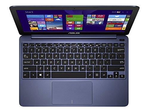 Asus X205TA-UH01-BK Notebook, Intel Z3735F Quad-Core, 1.33 GHz, 32 GB, Intel HD Graphics, Windows 8, Dark Blue, 11.6' (Renewed)