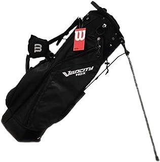 Wilson WGB4715BL Lightweight Weatherproof Velocity HDX Carry Bag w/ Shoulder Strap & 8 Dividers, Black