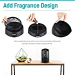 PARTU HEPA Air Purifier - Smoke Air Purifiers for Home with Fragrance Sponge - 100% Ozone Free, Lock Set, Eliminates… 11 【Efficient Three-Stage Filtration System】 PARTU HEPA Air Purifier features a three-stage filtration system. This comprises a pre-filter, a HEPA filter and an activated carbon filter, powerful enough to captures up dust, pollen, smoke, odor, pet dander, filters particles as small as 0.3 microns and air pollution of PM 2.5. 【Air Purifier With Fragrance Sponge】Add a drop of essential oil (Not Included) and some water into sponge below the purifier air outlet, then fragrance will flow with air movements. (Such as Citrus, Honeydew Melon, Musk, Vanilla, Orris or Vetiver) 【Lock Set】It's efficient to avoid error operation caused by pet or child's during their curiosity. (Keep pressing the Lock button for 3 seconds to start avoiding touching mode.) Three fan settings let you control the speed and volume of the Air purifier.
