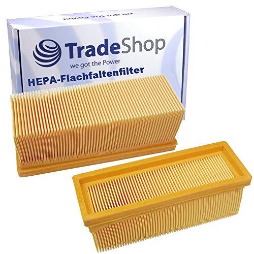 Flachfaltenfilter/Lamellenfilter/HEPA-Filter für Kärcher 6.414-498 2501 2501TE 2601 2601plus 3001 SE2001 SE3001 SE5100 SE6100 SE6100plus 3001hot 2701 A2701 2701TE A2731pt 2801 A2801 2801plus A2801plus