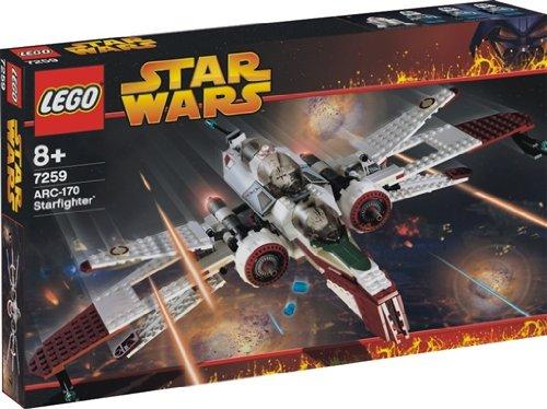 LEGO Star Wars 7259 ARC-170 Fighter - Caza ARC-170