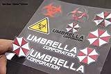 B213 Umbrella Corporation Set auto aufkleber 3D Emblem Badge car Sticker Abziehbild