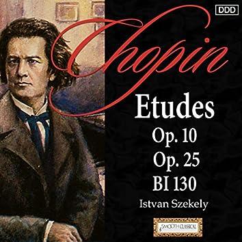 Chopin: Etudes Op. 10, Op. 25 and BI 130