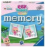 Ravensburger 20619 Memory Cry Babies, Juego Memory para Niños y Familias, Edad Recomendada 4+, 76 Cartas de Juego