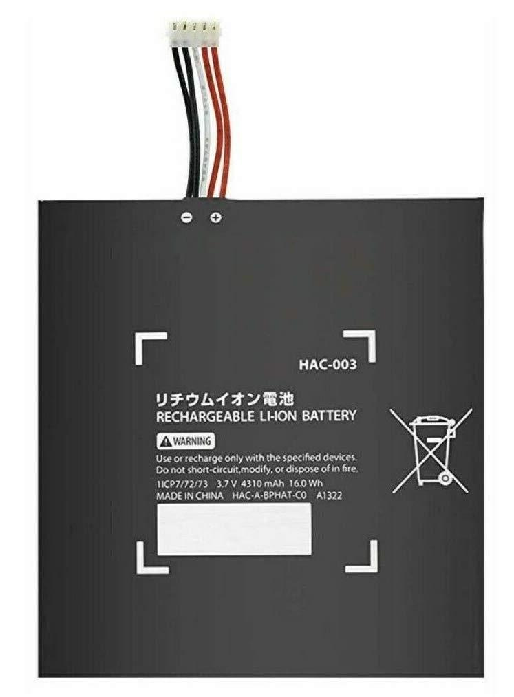 Desconocido Bateria para Consola Nintendo Switch Modelo HAC-003 3.7 V 4310 mAh 16.0 WH Li-Ion: Amazon.es: Electrónica