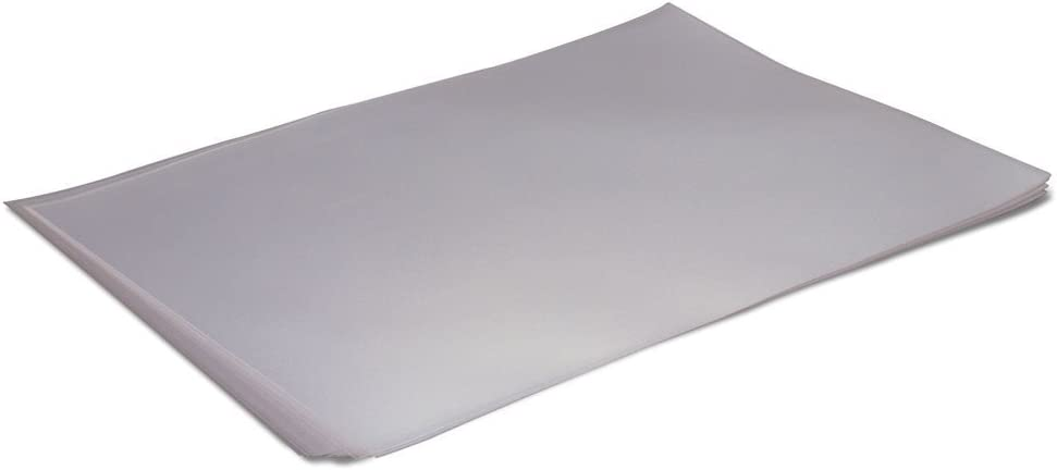 Polyethylene Sheet for Chocolate Work 9.75 Inch x 15.75 Inch - Pack of 15