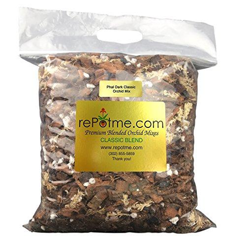 rePotme Phalaenopsis Dark Classic Orchid Mix (Mini Bag)