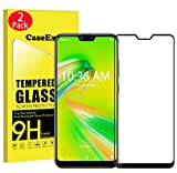 CaseExpert 2 Pack - Zenfone MAX Plus (M2) ZB634KL Protector de Pantalla, Ultra Tanque Transparente Cristal 9H Cristal Templado Glass Protector de Pantalla para ASUS Zenfone MAX Plus (M2) ZB634KL