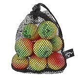 Callaway HX Soft Flight Practice Golf Balls (Pack of 9) Multi- Coloured
