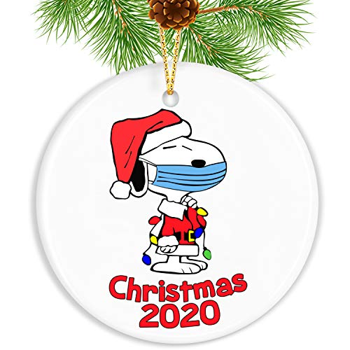 Touber 2020 Christmas Ornaments with Snoopy/Customized Christmas Decorations/Christmas Tree Ornaments