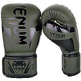 VENUM Elite Guantes de Boxeo, Unisex Adulto, Caqui/Negro, 16 oz