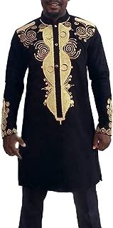 Steampunk Clothing,MILIMIEYIK Men Suits 2 Piece Luxurious Suit Slim Fit Stylish Palace Blazer Casual Coats Jackets & Trousers