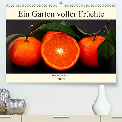 Ein Garten voller Früchte (Premium, hochwertiger DIN A2 Wandkalender 2020, Kunstdruck in Hochglanz): Leuchtent buntes Obst und Gemüse auf dunklem ... 14 Seiten ) (CALVENDO Lifestyle)