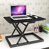 LLC Haushalt Stehen Schreibtisch stehend Verwenden von Desktop-Tabellen-Laptop Tabelle Movable Schreibtisch Alternating Hubtisch Hubtisch Einfache Studie Tabelle