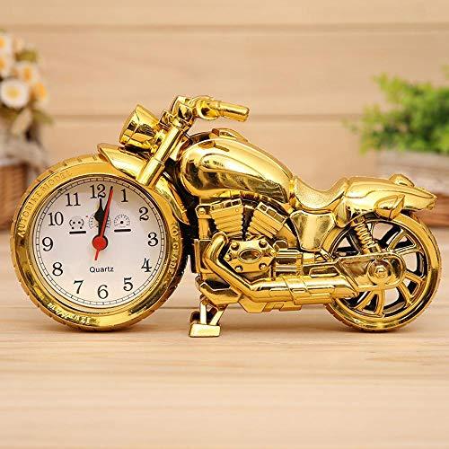 SXZHDZ Reloj de Mesa Reloj Antiguo De Mesa Los Tiranos Oro M