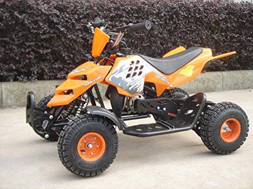 Mini ATV Easy Pullstart Quad Pocketquad Kinderquad Kinderfahrzeug Repti (Grün)