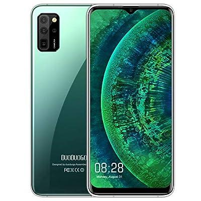 "S20 Pro Unlocked Cell Phones, 4G Unlocked Smartphone, Octa-Core Android 10 OS, 6.5"" FHD+ Full Screen 6GB+64GB ROM, Global 4G LTE, 16MP, Fingerprint Face Detection, International Version (Green)"