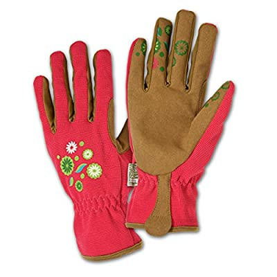DIRTY WORK DW86201 Synthetic Leather Palm Gloves,