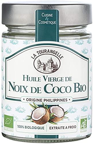 La Tourangelle Huile vierge de noix de coco, bio -...