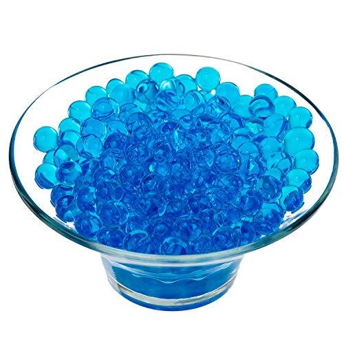 WedDecor Aguamarina Agua Bolas Cristal para Centro de Mesa Decoración, Hogar Decor, Boda, Jarrón Relleno - Azul, 1000 Pcs