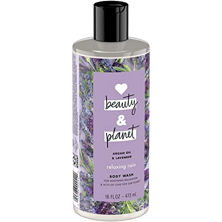 Love Beauty and Planet Argan Oil and Lavender Body Wash (Pack of 2)