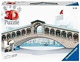 Ravensburger- Puzzle 3D, Edición Puente Rialto (12518)