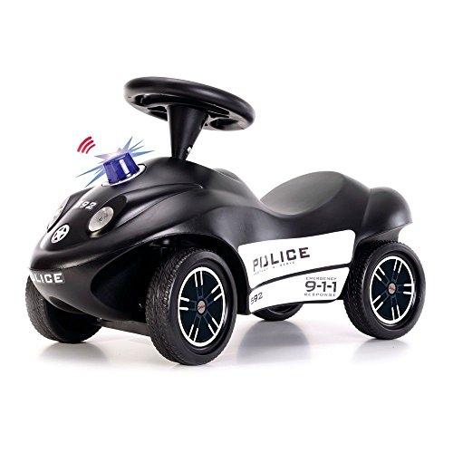 FERBEDO 050911 Police, schwarz, Rutschfahrzeug, Kinderauto Rutscher