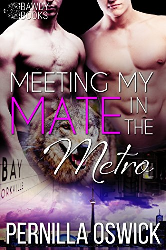 Meeting My Mate in the Metro (Gay MM Werewolf/Shifter Romance) (English Edition)