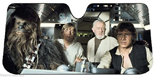 Star Wars Car Sun Shade UV Protector Shield Auto Window Windshield Cooler Truck