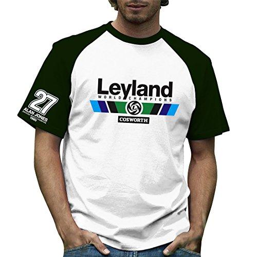 Retro Formula 1histórico, Leyland, Grand Prix 100% algodón camiseta