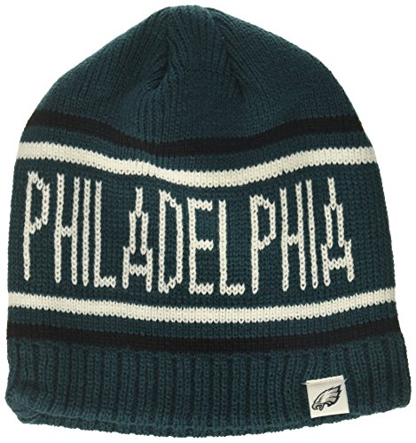OTS NFL Philadelphia Eagles Men's Thorsby Beanie Knit Cap, Team Color, One Size