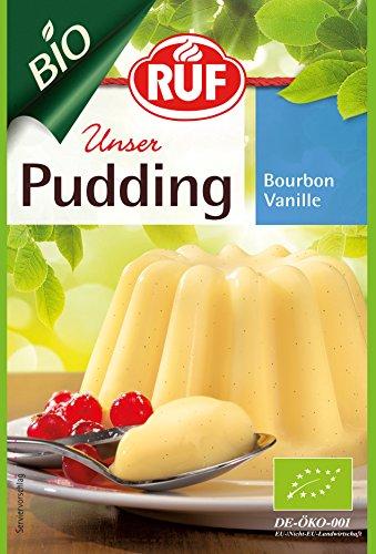 RUF BIO Pudding Bourbon Vanille 9er pack (9 x 2 x 40 g)